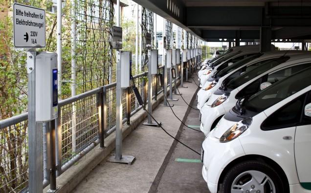 Intelligentes Stromnetz für Elektro-Fuhrpark