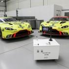 2 Ventilator with Aston Martin Racing Vantage GTE c