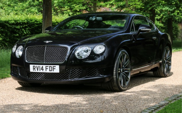 2014 Bentley Continental GT Speed main