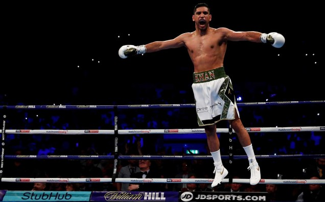 Amir Khan to launch boxing super league image