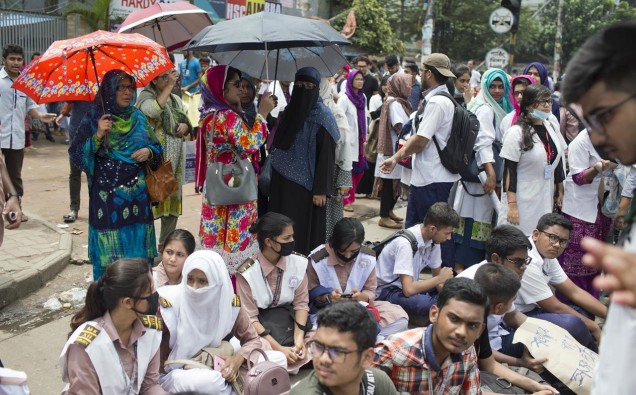 BANGLADESH PROTESTS image
