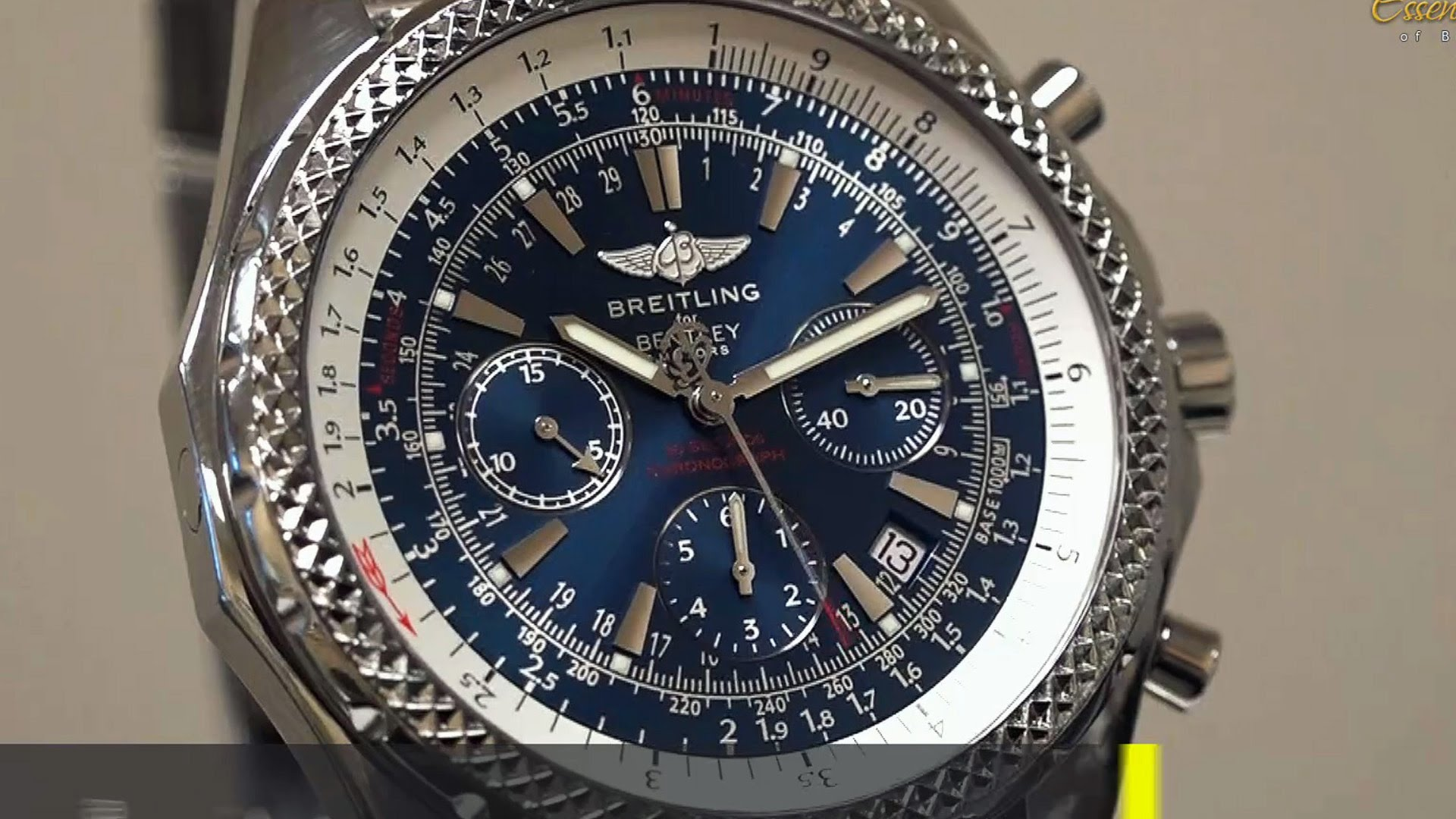 Breitling Bentley Watch >> BREITLING FOR BENTLEY INTRODUCES SUPERSPORTS B55 CONNECTED ...
