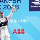 DS Virgin Racing's Sam Bird On Podium