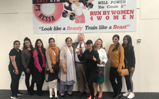 Gym run by women for women opens image