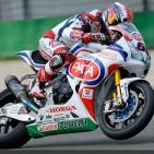 Honda superbike team
