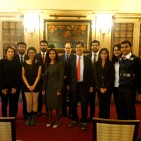 INBA delegation at The Law Society