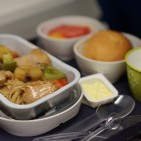 In-flight food