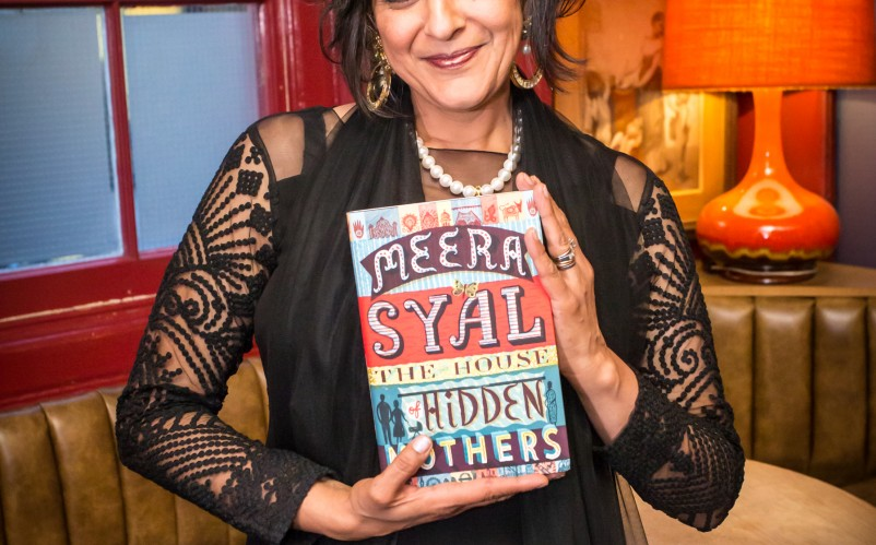 Meera Syal celebrates the launch of her latest novel The House of Hidden Mothers image by Swani.com