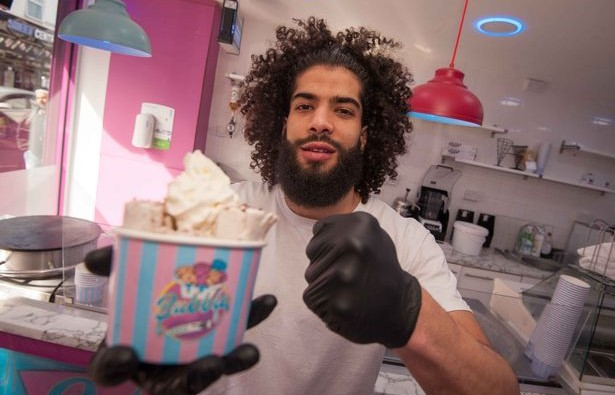 Meet the Brummie boxer who runs his own sweet shop image