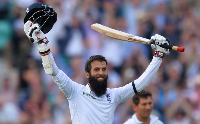 Moeen Ali is England image