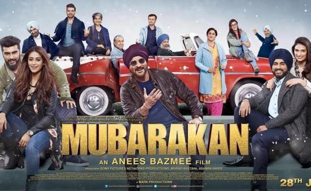 Mubarakan Second Trailer Poster