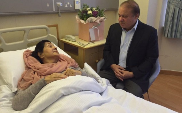 Nawaz Sharif Rules out Returning to Pakistan image