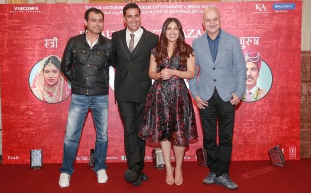 Neeraj Pandey, Akshay Kumar, Bhumi Pednekar, Anupam Kher
