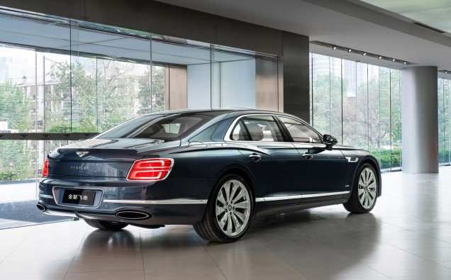 New Flying Spur-Rear