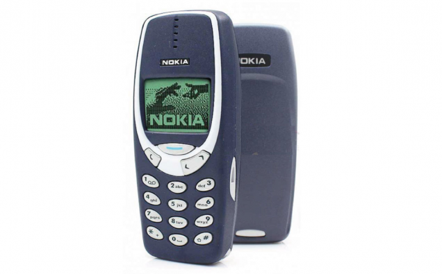 nokia 3310 how to set wallpaper