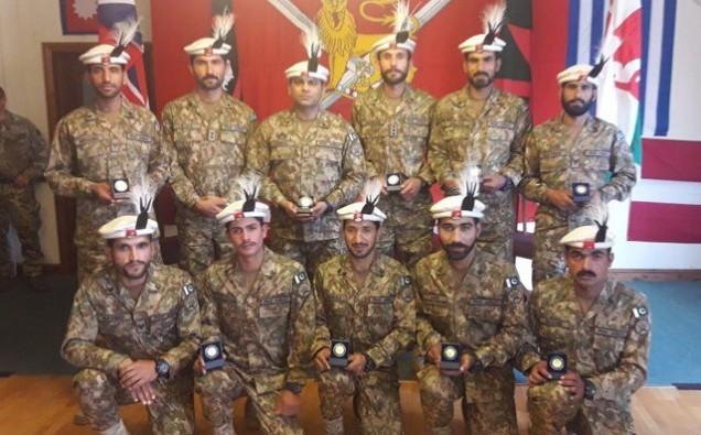 Pakistan Army wins gold image