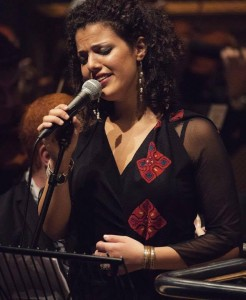 PalJazz Nai Barghouti performing