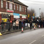 Parkfield school protest