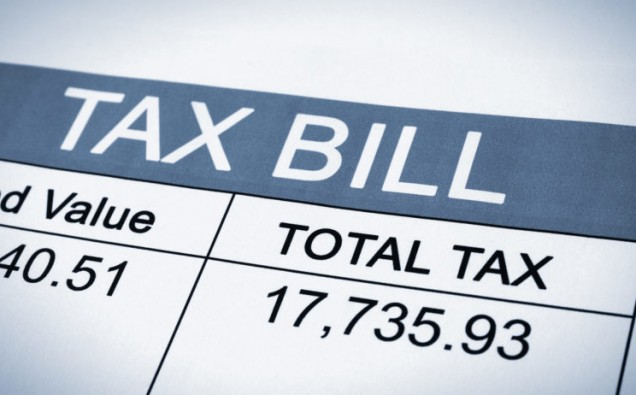 Paying your tax bill image