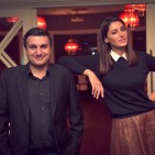 Pic 1 -Frank Khalid with Nargis Fakhri at  CHAK89-220