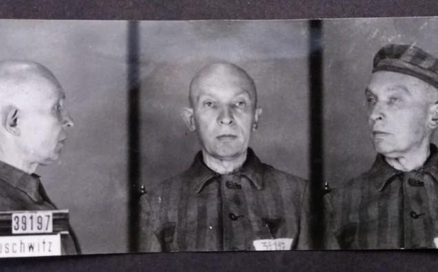 Professor_Marian_Gieszczykiewicz___Auschwitz_photo
