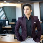 Proud confident yet empathetic to young talent who remain unnurtured and with little funds - Lakshay Jain the teen boss of Indian IT enterprise Mevrex