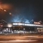 Ricoh Arena at night