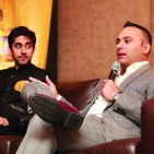 Russell Peters and Vinay Virmani at Press Conference