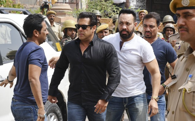 SALMAN KHAN JAILED FOR FIVE YEARS image