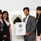 SAVORTEX team with GWR certificate