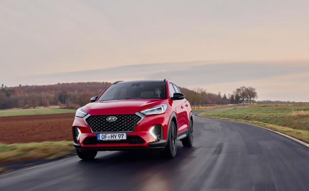 SPORTIER AND MORE EFFICIENT NEW HYUNDAI TUCSON BECOMES FIRST SUV WITH N LINE TREATMENT