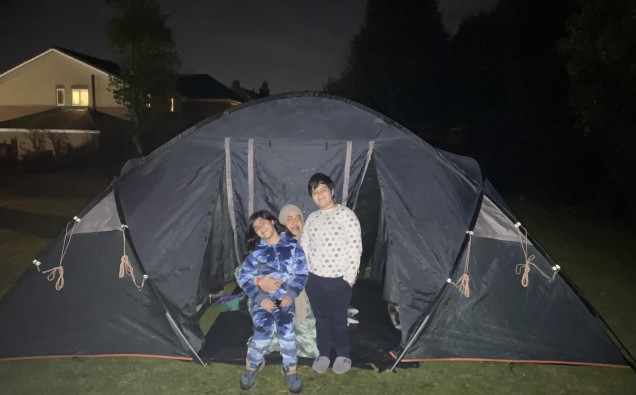 Sleep Out For Syria