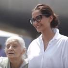 Sonam Kapoor with Rama Bhanot