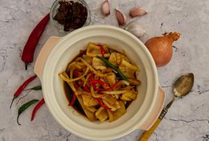 Zaleha Recipe - Squid Sambal