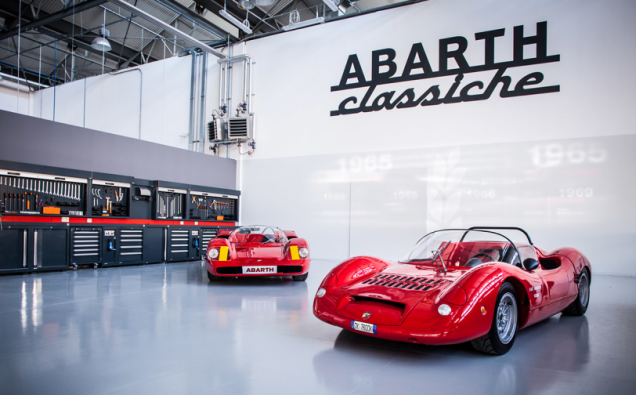 ABARTH TURNS BACK THE CLOCK AT LONDON CLIC CAR SHOW 2016
