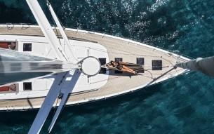 Argentous Yacht in Corfu, Greece