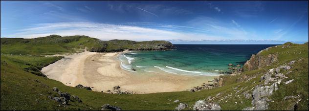 sunny dalmore beach