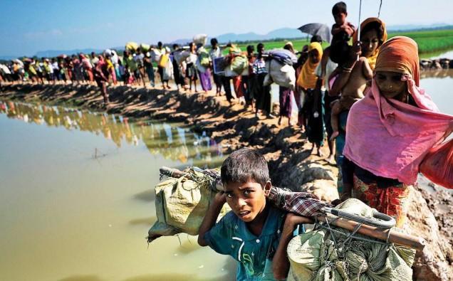 rohingya refugees image