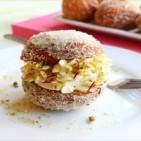 saffron-and-lemon-shrikhand-doughnuts