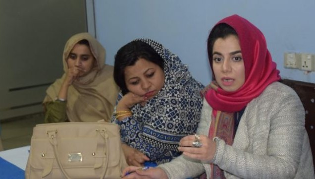 women journalists Khyber Pakhtunkhwa 1